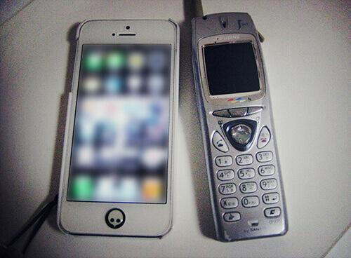 処分した携帯