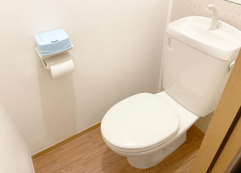 一人暮らしミニマリストのトイレ
